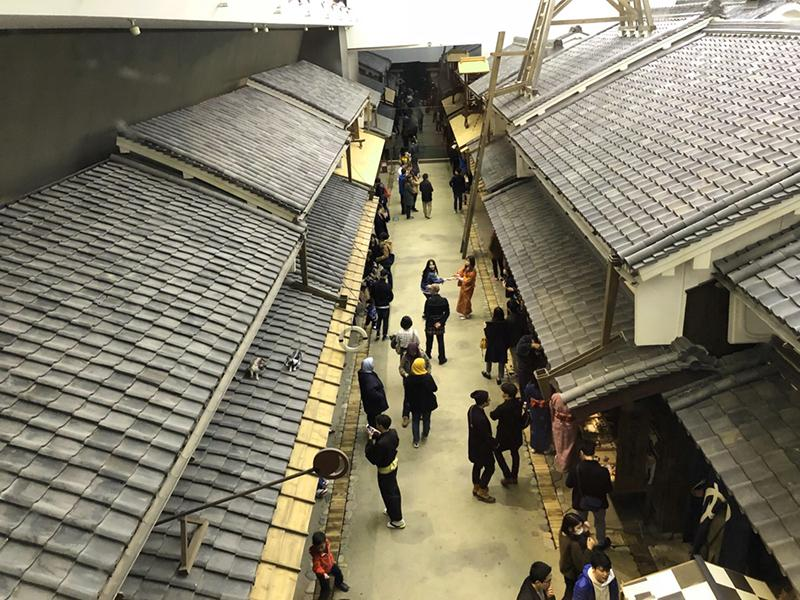 Taste of Edo-era life in Osaka Museum of House and Living