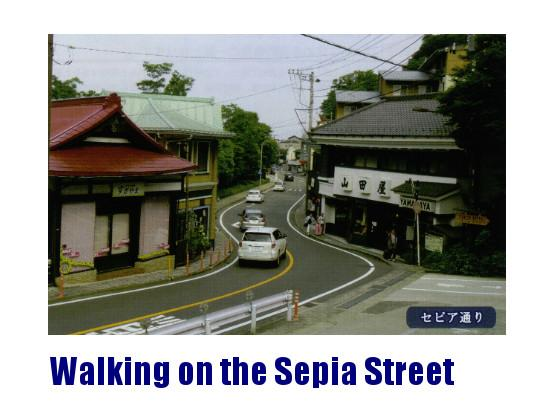 Walking on the Sepia Street (sample tour)