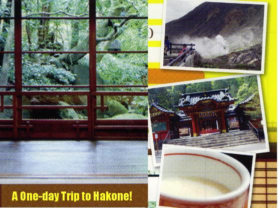 A one-day trip to Hakone (sample tour)